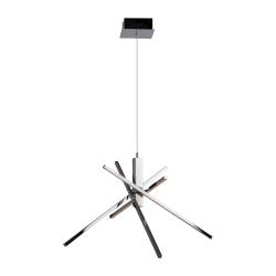 Люстра BENETTI LED Geometria хром 35Вт 3000K LED-030-6000-04/P