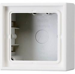 LS990 Коробка 1-ная для накладного монтажа,бел.