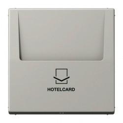 Накладка на карточный выключатель Jung LS 990, светло-серый, LS590CARDLG