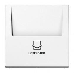 Накладка на карточный выключатель Jung LS 990, белый, LS590CARDWW