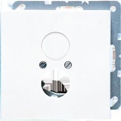 Накладка на аудиорозетку Jung LS 990, светло-серый, LS962LG