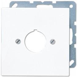 Накладка на розетку информационную Jung LS 990, белый, LS964WW