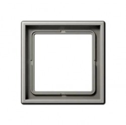 Рамка 1 пост Jung LS 990, светло-серый, LS981LG