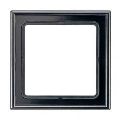 Рамка 1 пост Jung LS 990, черный, LS981SW