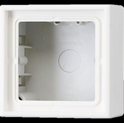 LS990 Коробка 3-ная для накладного монтажа, беж.