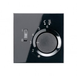 Накладка на термостат Jung LS 990, черный, LSFTR231PLSW