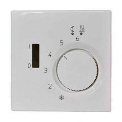 Накладка на термостат Jung LS 990, белый, LSFTR231PLWW