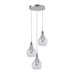 Светильник BENETTI Modern Goccia подвесной хром 3xG9 MOD-015-6100-03/P