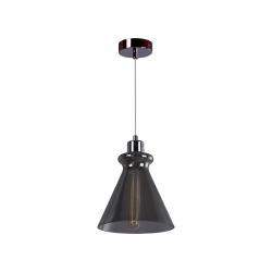 Светильник BENETTI Modern Fusione подвесной серый/дымчатый 1xE27 MOD-021-9600-01/P