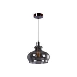 Светильник BENETTI Modern Fusione подвесной серый/дымчатый 1xE27 MOD-022-9600-01/P