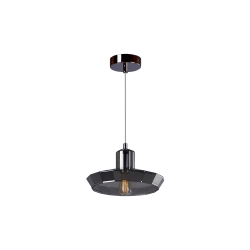 Светильник BENETTI Modern Fusione подвесной серый/дымчатый 1xE27 MOD-025-9600-01/P