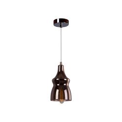 Светильник BENETTI Modern Fusione подвесной кофе 1xE27 MOD-028-9600-01/P