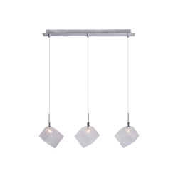 Светильник BENETTI Modern Kubo подвесной хром 3хG9 MOD-030-1600-03/P