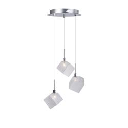 Светильник BENETTI Modern Kubo подвесной хром 3хG9 MOD-031-1600-03/P