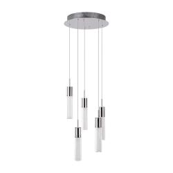 Светильник BENETTI Modern Raggio подвесной хром 5хMR11 MOD-046-6100-05/P