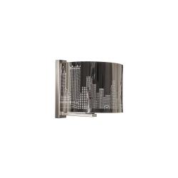 Бра BENETTI Modern Citta хром 1хE27 MOD-405-6060-01/B