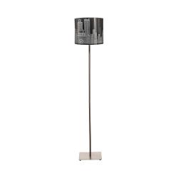 Торшер BENETTI Modern Citta хром 1хE27 MOD-405-6060-01/F