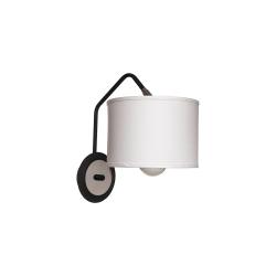 Бра BENETTI Modern Girevole черный/белый 1хE27 MOD-410-8670-01/B