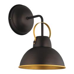 Бра BENETTI Modern Loft темный венге/золото 1xE27 MOD-411-8020-01/B