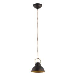 Светильник BENETTI Modern Loft темный венге/золото 1xE27 MOD-411-8020-01/P