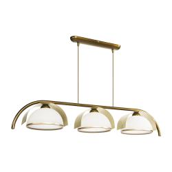 Люстра BENETTI Modern Arco золотистая бронза/золото 3xE27 MOD-415-2072-03/C