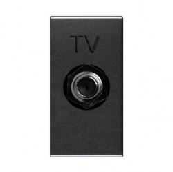 Розетка TV ABB ZENIT, одиночная, антрацит, N2150 AN