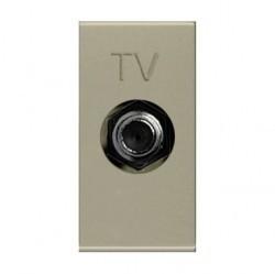Розетка TV ABB ZENIT, одиночная, шампань, N2150 CV