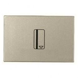 Карточный выключатель двухмодульный ABB ZENIT, механический, шампань, N2214.1 CV