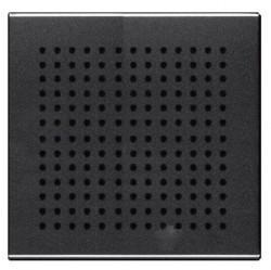 Накладка (решётка) для громковорителя 2, серия Zenit, цвет антрацит