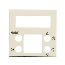 Накладка на термостат ABB ZENIT, альпийский белый, N2240.5 BL