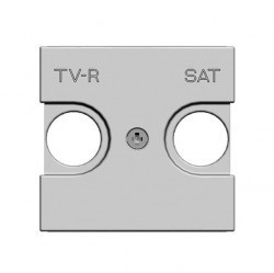 Накладка на розетку телевизионную ABB ZENIT, альпийский белый, N2250.1 BL