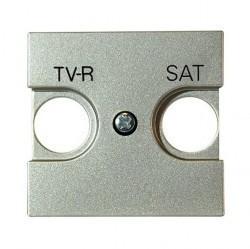 Накладка на розетку телевизионную ABB ZENIT, шампань, N2250.1 CV