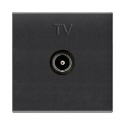 Розетка TV ABB ZENIT, одиночная, антрацит, N2250.7 AN