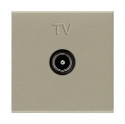 Розетка TV ABB ZENIT, одиночная, шампань, N2250.7 CV