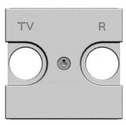 Накладка на розетку телевизионную ABB ZENIT, альпийский белый, N2250.8 BL