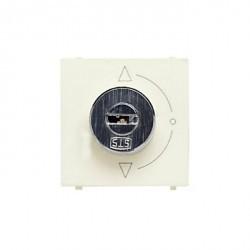Выключатель поворотный с ключом ABB ZENIT, альпийский белый, N2253.1 BL