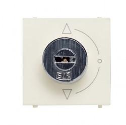Выключатель поворотный с ключом ABB ZENIT, альпийский белый, N2253 BL