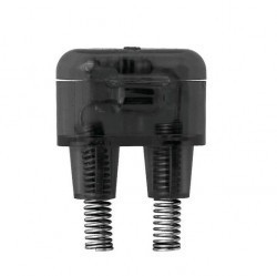 Светорегулятор клавишный ABB ZENIT, 60 Вт, серебристый, N2260.1 PL