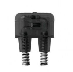 Светорегулятор поворотный ABB ZENIT, 100 Вт, серебристый, N2260.3 PL