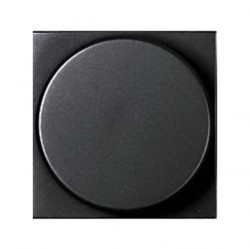 Светорегулятор-переключатель клавишный ABB ZENIT, 500 Вт, антрацит, N2260 AN