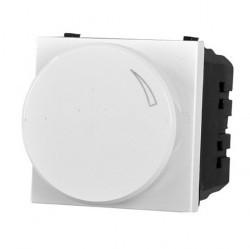 Светорегулятор-переключатель клавишный ABB ZENIT, 500 Вт, альпийский белый, N2260 BL