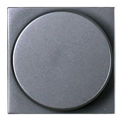 Светорегулятор-переключатель клавишный ABB ZENIT, 500 Вт, серебристый, N2260 PL