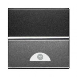 Выключатель с таймером ABB ZENIT, электронный, антрацит, N2262.1 AN