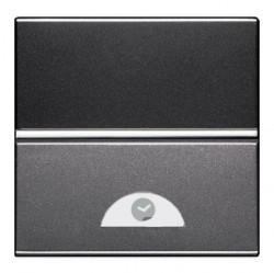 Выключатель с таймером ABB ZENIT, электронный, антрацит, N2262 AN