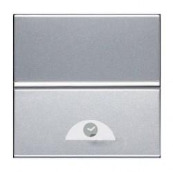 Выключатель с таймером ABB ZENIT, электронный, серебристый, N2262 PL