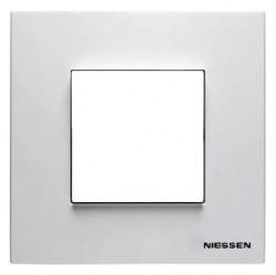 Рамка 1 пост ABB ZENIT, альпийский белый, N2271 BL