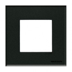 Рамка 1 пост ABB ZENIT, графит, N2271 CF