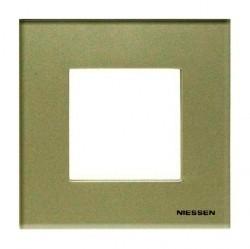 Рамка 1 пост ABB ZENIT, жемчужное стекло, N2271 CP