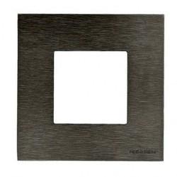 Рамка 1 пост ABB ZENIT, стальной, N2271 OX