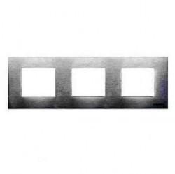Рамка 3 поста ABB ZENIT, стальной, N2273 OX